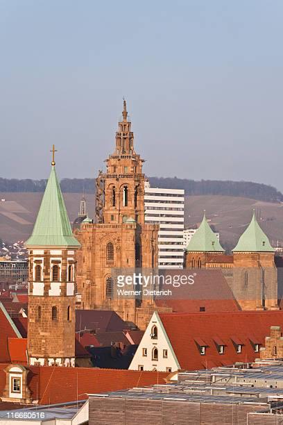 Cityscape of Heilbronn, Baden-Wurttemberg, Germany