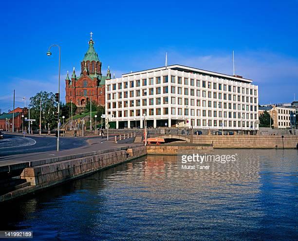 Cityscape of Helsinki