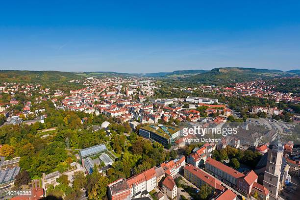 Cityscape of Jena, Thuringia, Germany