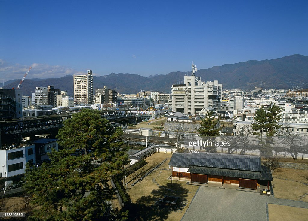 Yamanashi Japan  city pictures gallery : Cityscape Of Kofu Kofu Yamanashi Japan Stock Photo | Getty Images
