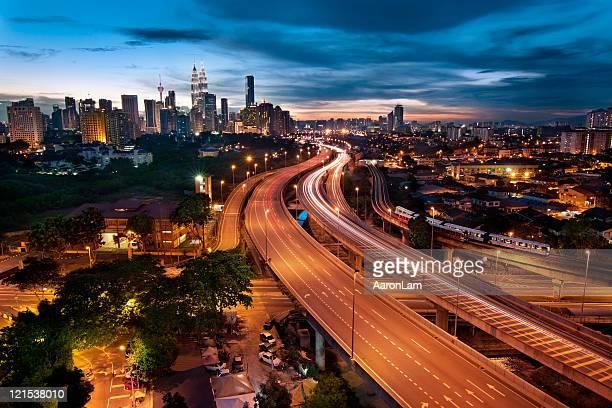 Cityscape of Kuala Lumpur