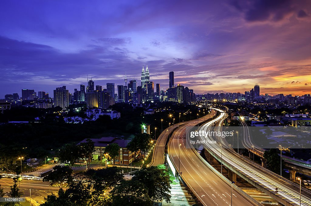 Cityscape of Kuala Lumpur : Stock Photo