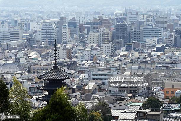 Cityscape of Kyoto, Kyoto Prefecture, Japan
