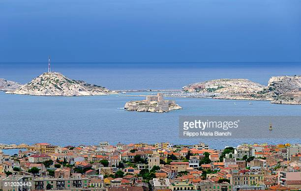 A cityscape of Marseille