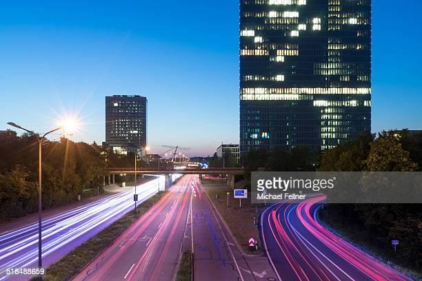 Cityscape of modern Munich