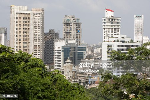 Cityscape of mumbai : Stock Photo