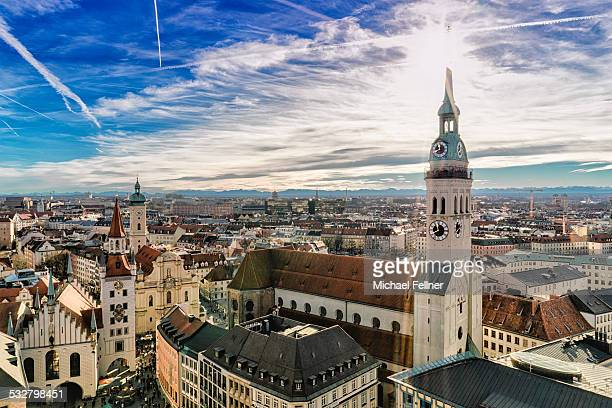Cityscape of Munich
