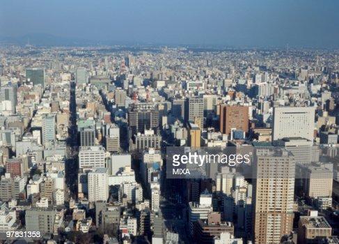 Cityscape Of Nagoya, Aichi, Japan
