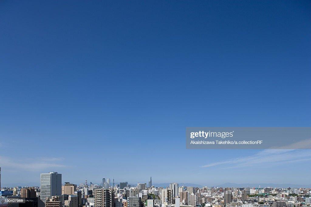 Cityscape of Nagoya city, Aichi Prefecture, Japan