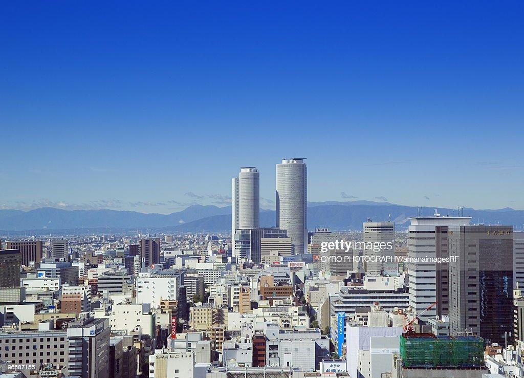 Cityscape of Naka-ku,  Nagoya,  Aichi Prefecture,  Japan