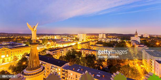 Cityscape of Potsdam at night