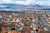 Cityscape of Prizren, Kosovo