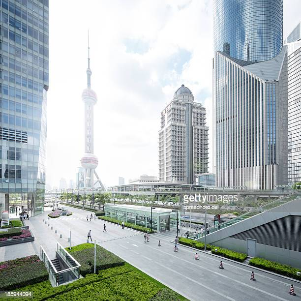 Cityscape of Pudong