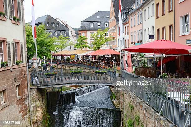 Cityscape of Saarburg
