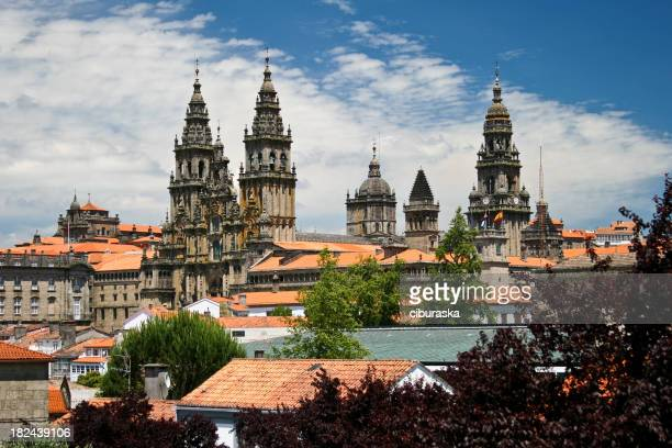 Cityscape of Santiago de Compostela