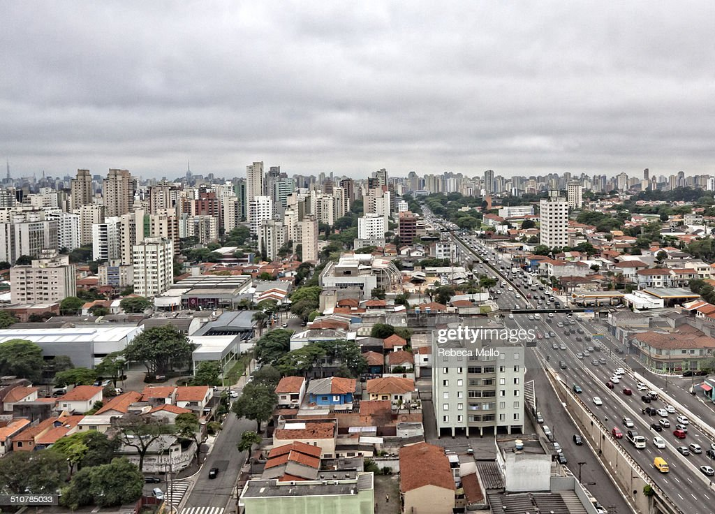 A cityscape of São Paulo, Brazil