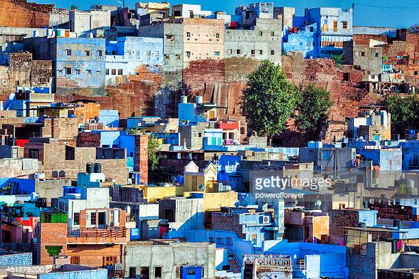 Cityscape of the Blue City - Jodhpur, India