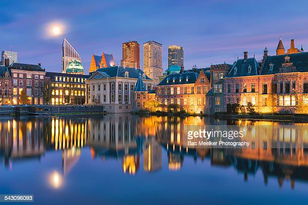 Cityscape of The Hague in the Netherlands