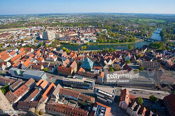 Cityscape of Ulm, Baden-Wurttemberg, Germany