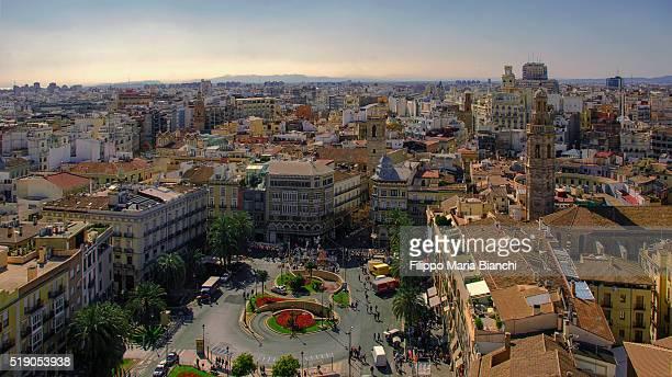 Cityscape of Valencia