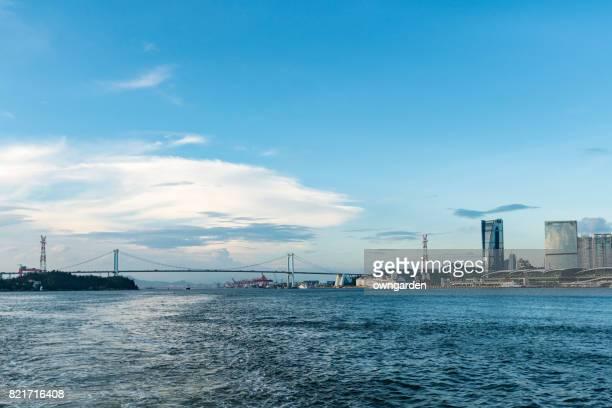 Cityscape of Xiamen, Fujian, China
