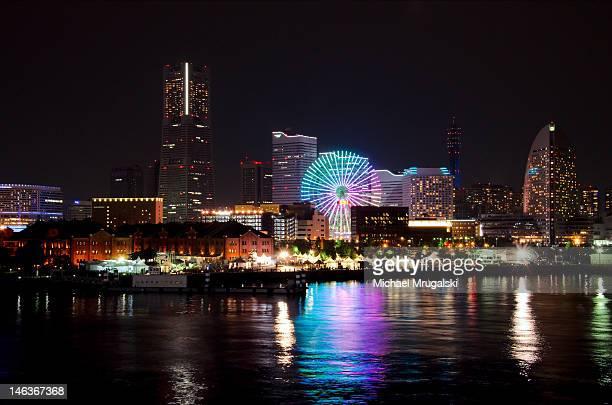 Cityscape of Yokohama