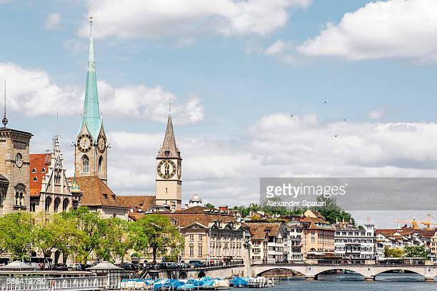 Cityscape of Zurich, capital city of Switzerland