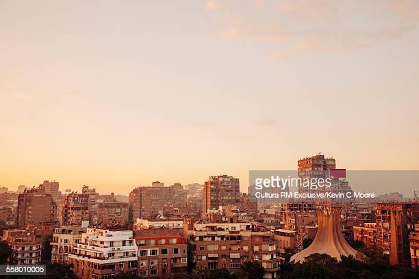 Cityscape on Gezira Island, Cairo, Egypt