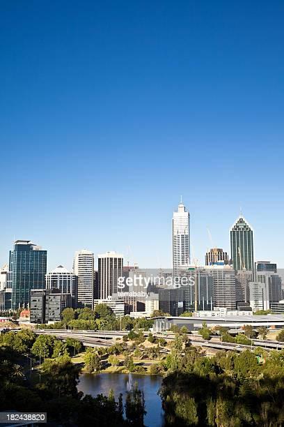 Cityscape Perth Skyline