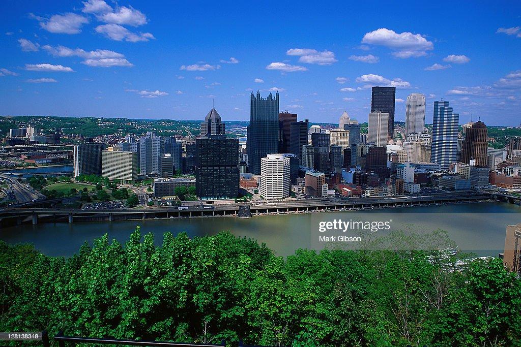 USCIT035 Cityscape, Pittsburgh, PA : Stock Photo