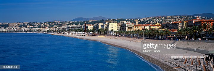Cityscape view of Nice