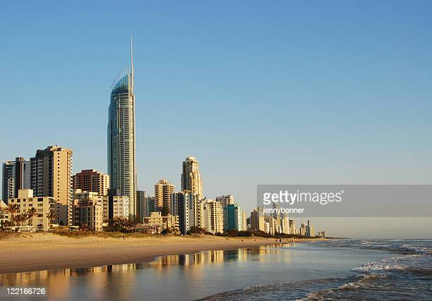 Cityscape view of Surfers Paradise in Queensland Australia