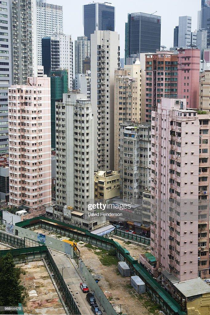 Cityscape, Wanchai, China : Stock Photo