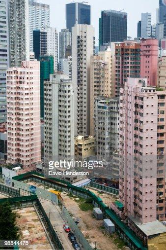 Cityscape, Wanchai, China : Stockfoto