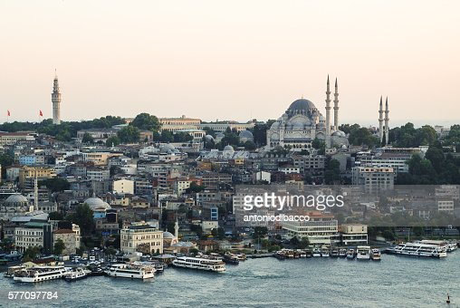 Cityscape with mosque - Istanbul