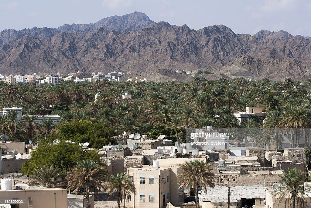 'Cityview of Nizwa, Oman.'