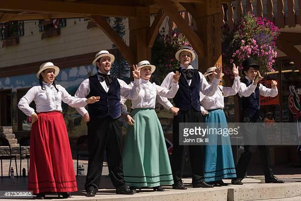 Civic choral performance