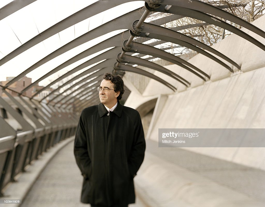 Civil Engineer <a gi-track='captionPersonalityLinkClicked' href=/galleries/search?phrase=Santiago+Calatrava&family=editorial&specificpeople=135336 ng-click='$event.stopPropagation()'>Santiago Calatrava</a> poses for a portrait shoot on January 16, 2005 in Zurich.