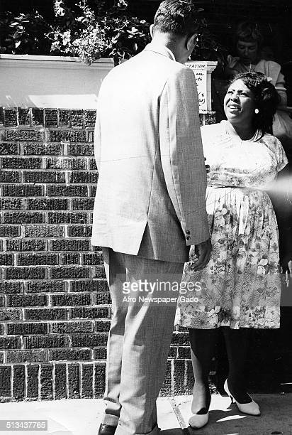 Civil rights activist and organizer of the Student Nonviolent Coordinating Committee Fannie Lou Hamer 1960