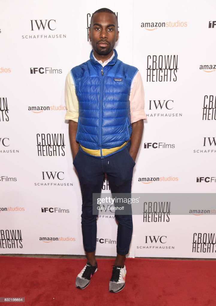 Civil rights activist DeRay Mckesson attends the 'Crown Heights' New York premiere at The Metrograph on August 15, 2017 in New York City.