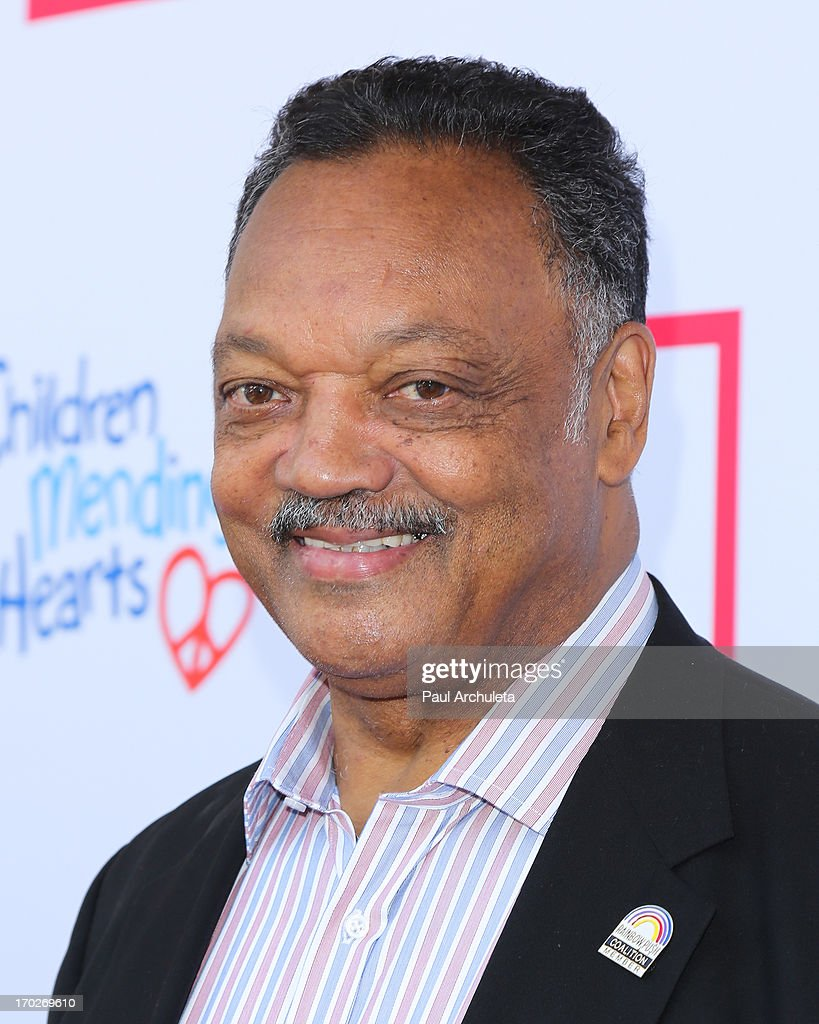 Civil Rights Activist Jesse Jackson attends the 1st annual Children Mending Hearts Style Sunday on June 9, 2013 in Beverly Hills, California.