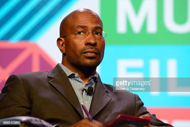 Civil rights activist Van Jones speaks onstage at '#YesWeCode From The 'Hood To Silicon Valley' during the 2015 SXSW Music Film Interactive Festival...