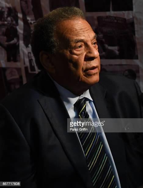 Civil Rights Icon/Ambassador Andrew Young at 96th Birthday Celebration For Dr Joseph Lowery at Rialto Center for the Arts on October 4 2017 in...