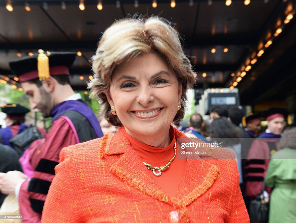Civil rights lawyer <a gi-track='captionPersonalityLinkClicked' href=/galleries/search?phrase=Gloria+Allred&family=editorial&specificpeople=213999 ng-click='$event.stopPropagation()'>Gloria Allred</a> attends granddaughter Sarah Bloom's graduation from Fordam Law School at Beacon Theatre on May 18, 2015 in New York City.