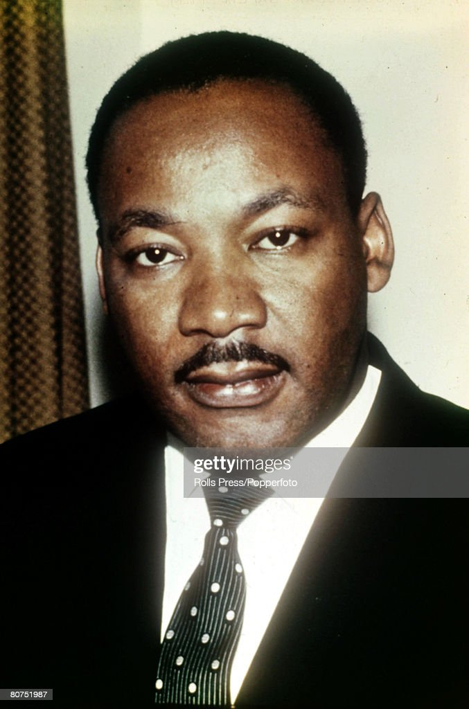circa 1966, American Civil Rights leader Martin Luther King, Martin Luther King, (1929-1968) clergyman, civil rights leader and Nobel Peace Prize winner, was killed by an assassin while in Memphis