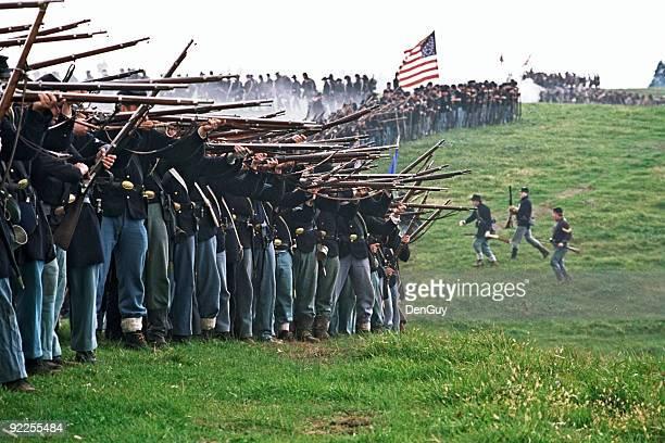 アメリカ南北戦争の戦い Infantry シェナンドアヴァレーバージニア州