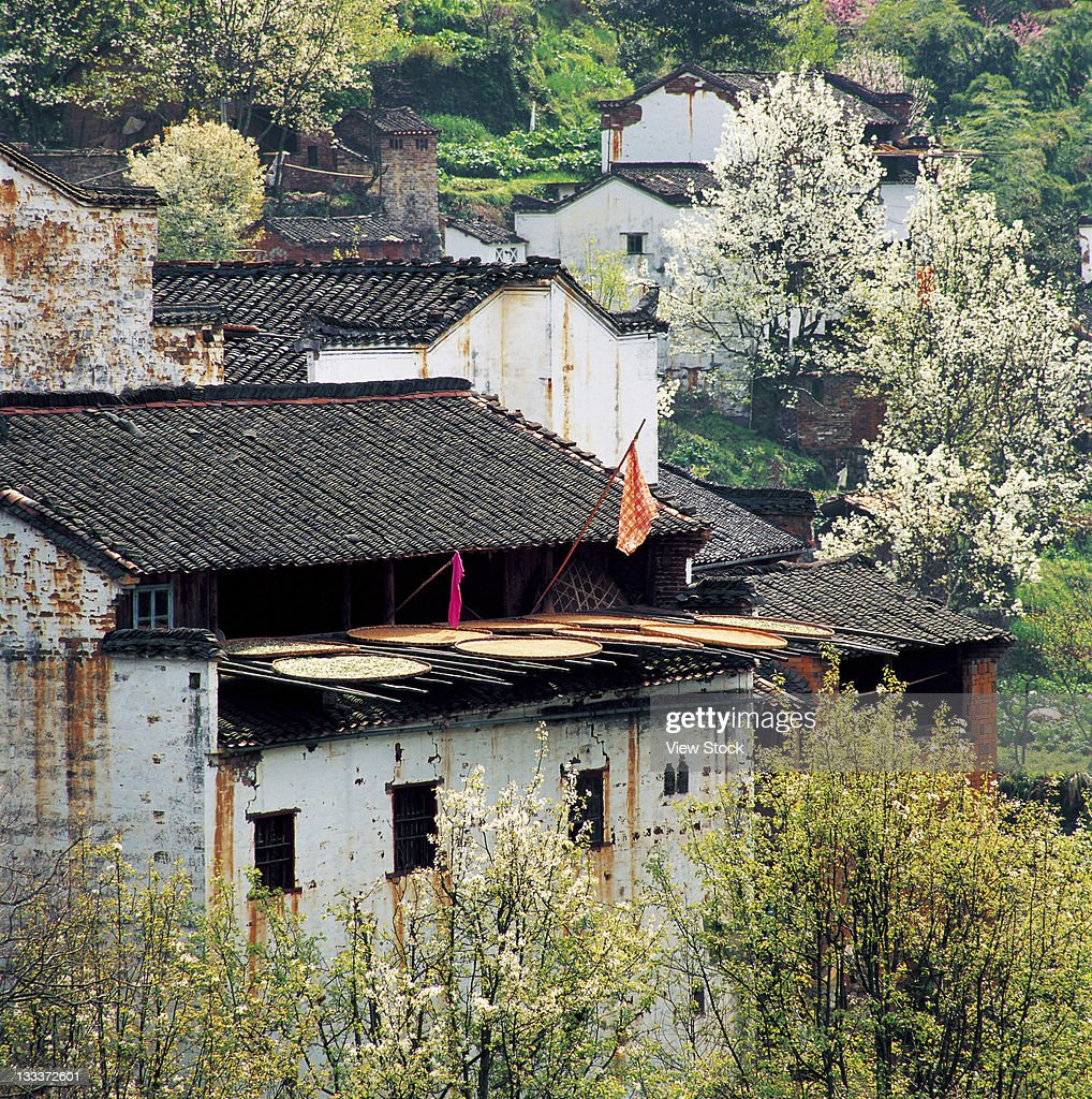 civilian houses in Anhui,China