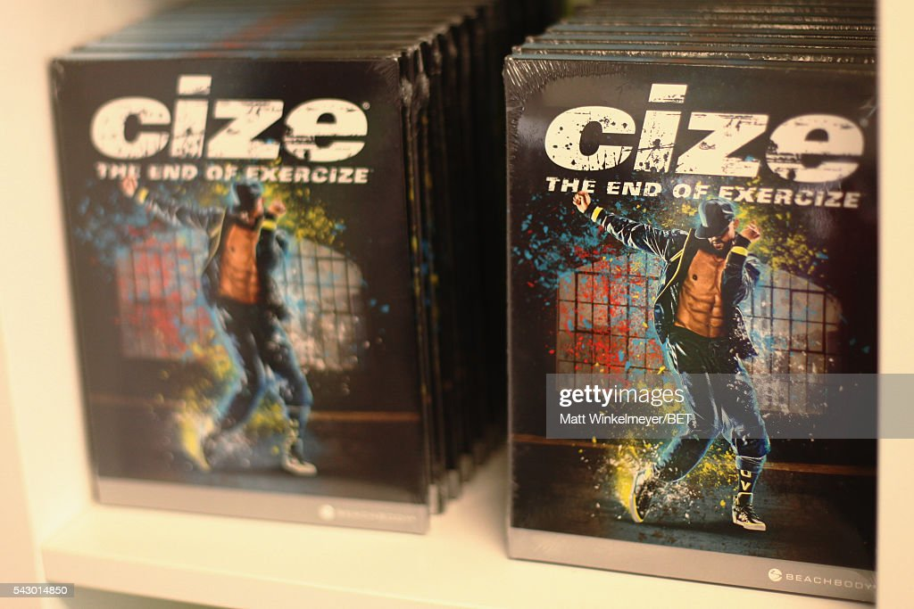 Cize products are displayed in the BETX gifting suite during the 2016 BET Experience on June 25, 2016 in Los Angeles, California.