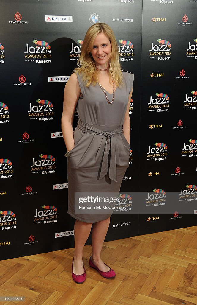 Claire Anderson attends the Jazz FM Awards at One Marylebone on January 31, 2013 in London, England.