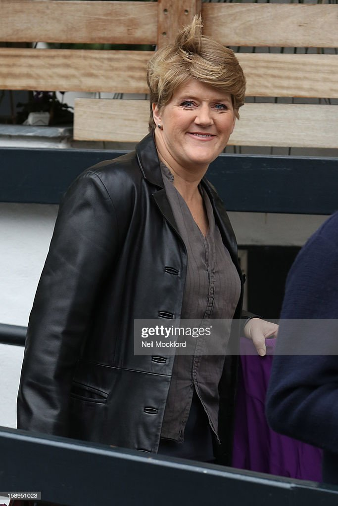 Claire Balding seen at the ITV Studios on January 4, 2013 in London, England.